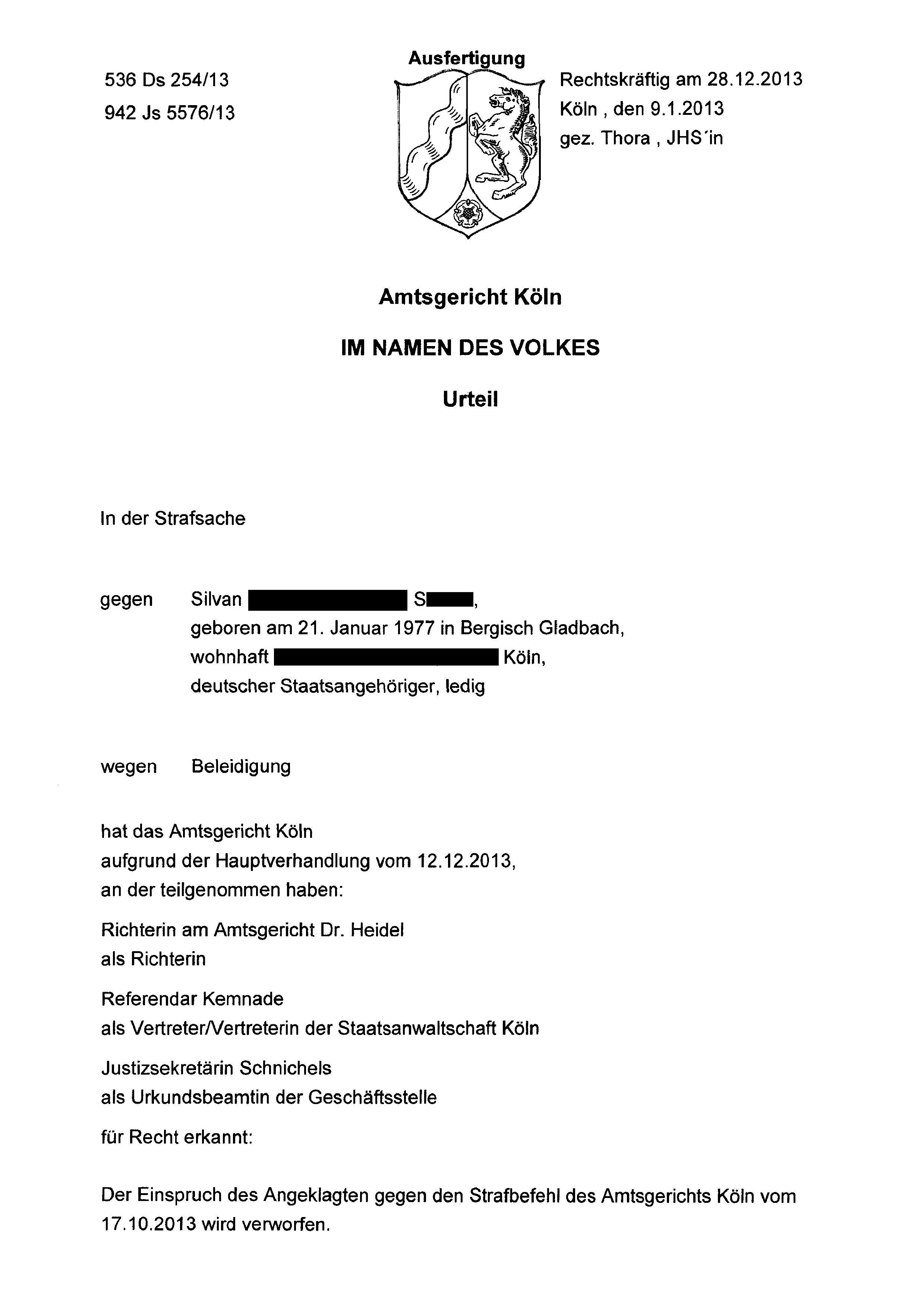 Staatsanwaltschaft | BRD Nazi-Justiz von DJ Silvan | Seite 2