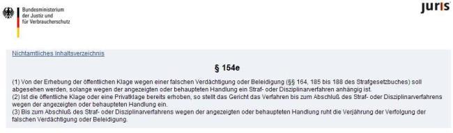 StPO §154e