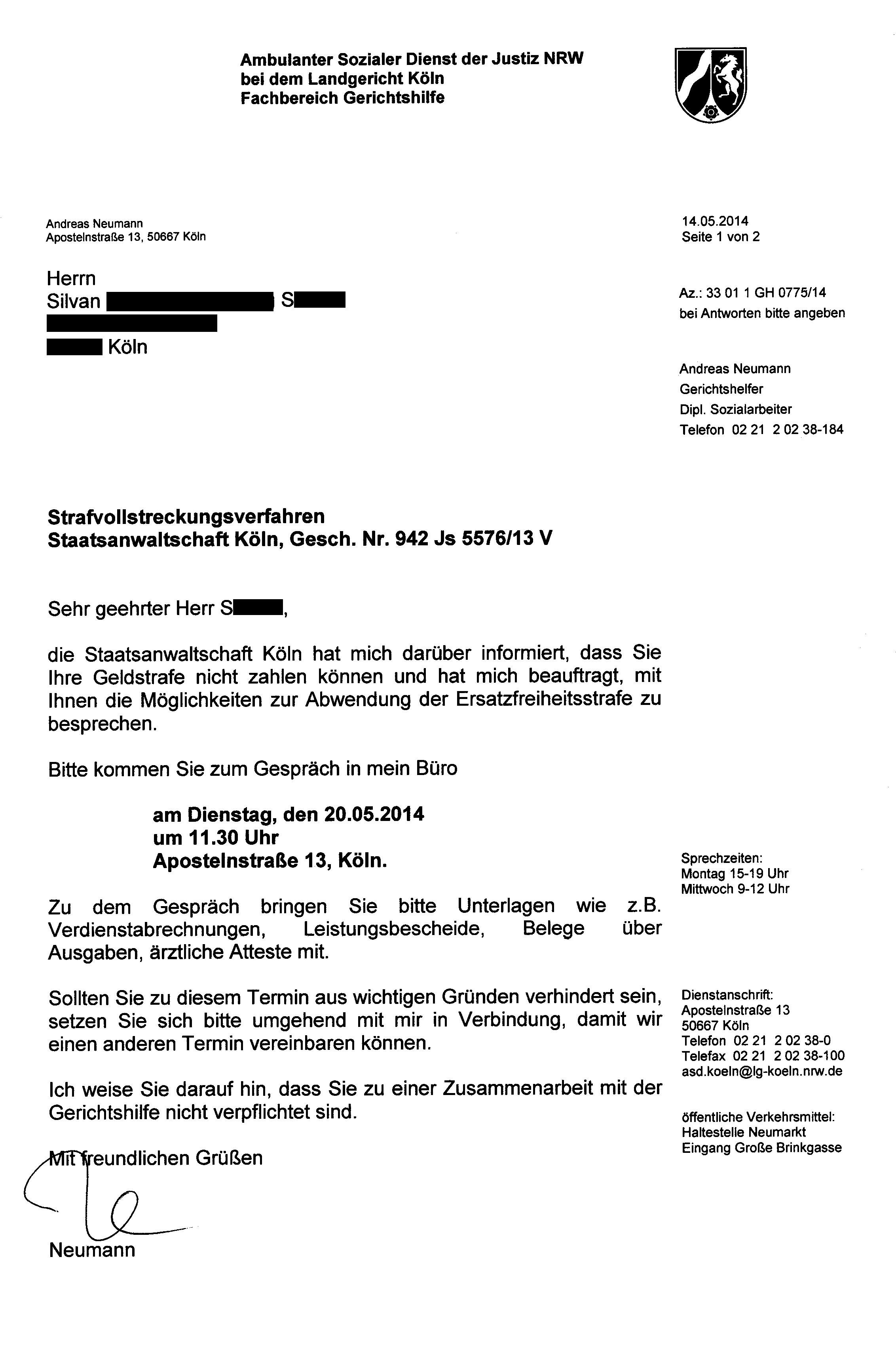 Drohung | BRD Nazi-Justiz von DJ Silvan