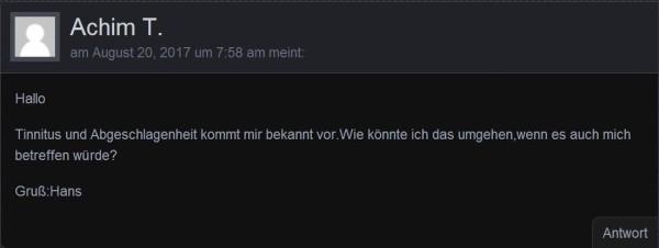 Kommentar von Achim T.