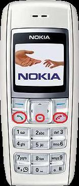 Nokia 1600 - Hard Reset