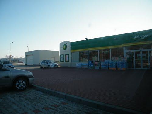 Autobahn Tankstelle