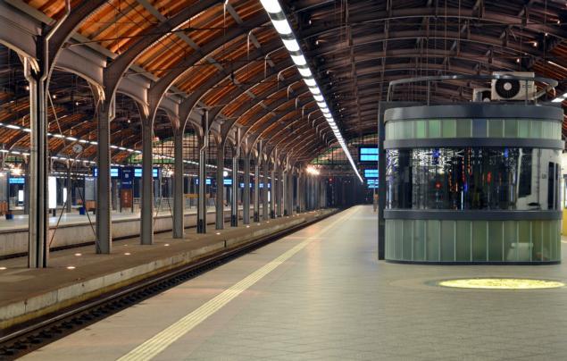 Bahnhof Breslau - Bahnsteig