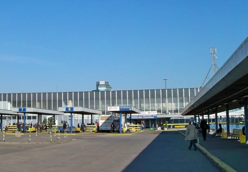 Warschau Zachodnia - Bus Station