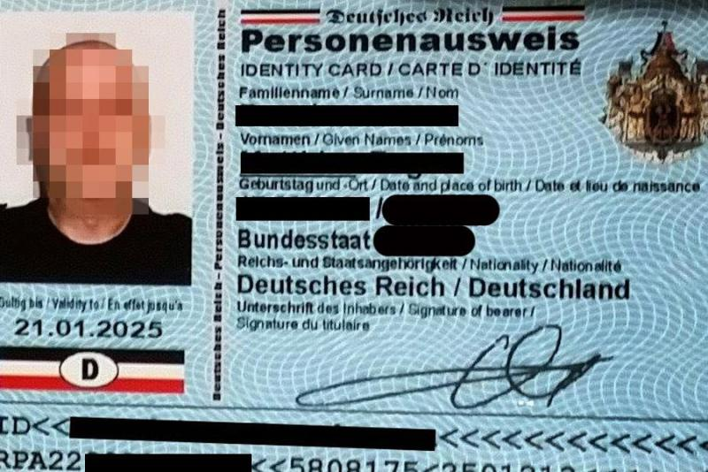 Muster - Personenausweis