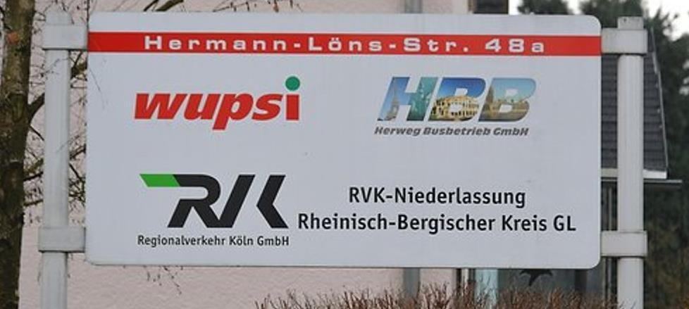 Betriebshof WUPSI/RVK