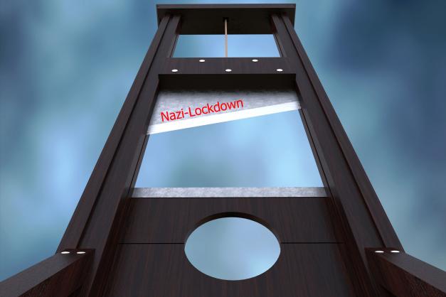 Guillotine-Nazi-Lockdown